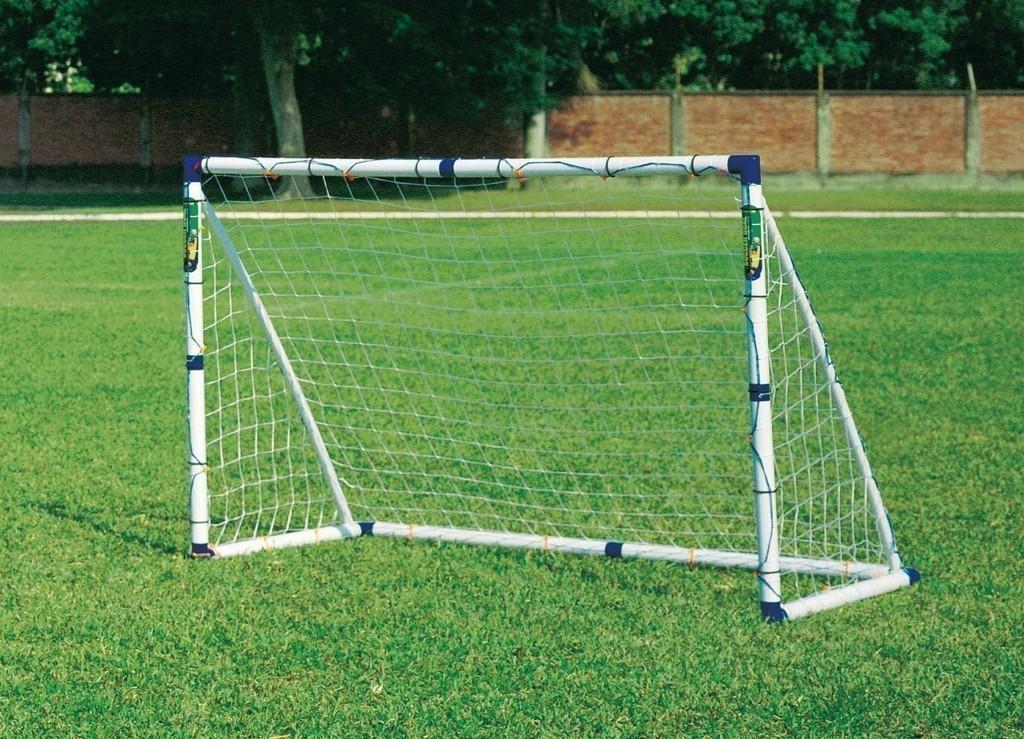 Ворота футбольные своими руками из труб